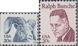 USA 1523,1524 (kompl.Ausg.) Postfrisch 1982 Tiere, Bunche - Etats-Unis