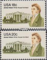 USA 1509-1510 (kompl.Ausg.) Postfrisch 1981 James Hoban - Etats-Unis