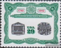 U.S. 2218 (complete Issue) Unmounted Mint / Never Hinged 1992 200 Years Exchange - Etats-Unis