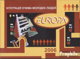 Ukraine MH7 (kompl.Ausg.) Postfrisch 2006 Europa - Ukraine