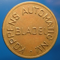 KB248-1a - KOPPENS AUTOMATIC N.V. BLADEL - 0 O'clock - Bladel - B 22.5mm - Koffie Machine Penning - Coffee Machine Token - Professionals/Firms