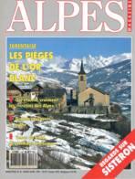 Alpes Magazine  -  N°8  - Moniteur Oiseaux Tarentaise La Salette Ocres De Rousillon Crétin Grandes Jorasses -  SUP Cusin - Géographie