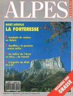 Alpes Magazine  -  N°9  - R Balanchard Mouflon Grasse Vallée De L'arve Vaches Aiguille Du Midi Gouffre Berger Mont Aigui - Géographie