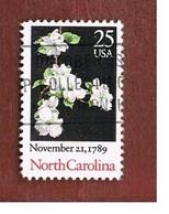 STATI UNITI (U.S.A.) - SG 2404  - 1989   NORTH CAROLINA STATEHOOD BICENTENARY  - USED - Etats-Unis