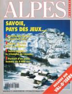 Alpes Magazine  -  N°13  - Hommes Des Glaces Sanglier Val D'isere Sainte Victoire Poterie Météo Maison De Savoie Diois - - Géographie