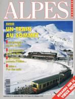 Alpes Magazine  -  N°14  - Pisteur Tetras Lyre Nice Lac Du Bourget Baroque Jungfrau Obiou Noix - - Géographie