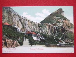 "GIBRALTAR - "" GOVERNOR' S COTTAGE  "" - //// CARTE PIONNIERE /// - Gibraltar"