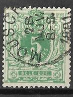 8S-291:N°45: E9: MOUSCRON - 1869-1888 León Acostado