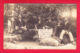Guerre-14-18-(335)Ph50 Carte Photo, Souvenir Du Bois Le Pretre, Photo Prise La Veille De La Sanglante Bataille - Guerre 1914-18