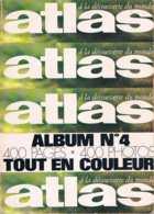 Atlas   Album  N°4   : N°57 - 58 - 59 - 60 - Géographie