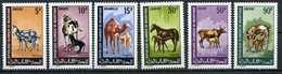 Mauritanie YT 256-261 XX / MNH Animal Lifestock Bétail - Mauritanie (1960-...)