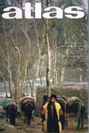 Atlas   N°125   Nov 1976: Toit Du Monde Vins De La Loire Mer De Chines - Géographie