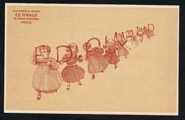 Ed PINAUD Parfums Cosmétiques Pub Réclame - A La Corbeille Fleurie - (1) Enfants - Publicité