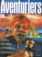 Les Nouveaux Aventuriers - N°1 -  Juin 1998 - Photo Sous Marine Pôle Sud L'ulm A Pédale Cancérologie Transat Anglaise - Géographie
