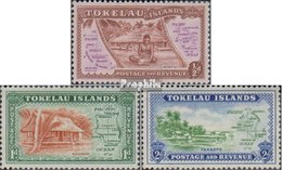 Tokelau Postfrisch Karte 1948 Karte - Tokelau