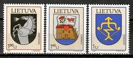 Lithuania 2004 Lituania / Coat Of Arms MNH Escudos / Kd26  36 - Sellos