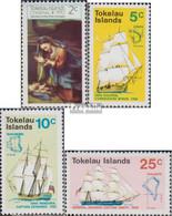 Tokelau Postfrisch Weihnachten 1970 Weihnachten, Entdeckungsgeschichte - Tokelau