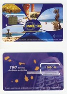 Cap Verde___very Early GSM SIM Carte Avec Puce Plug-in___Movel Cabo Verde Telecom___rare Chip Modul - Cap Vert