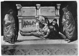 Orvieto, Duomo - Deposizione (L. Signorelli), Unused Postcard [23107] - Paintings