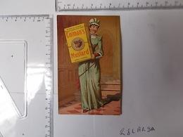 Chromo COLMAN'S MUSTARD Moutarde Anglaise Photo Recto/verso - Chromos