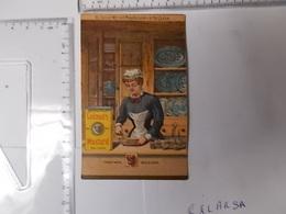 Chromo COLMAN'S MUSTARD Moutarde Anglaise Vendeuse Photo Recto/verso - Chromos