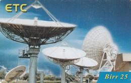 Ethiopia - Five Satellite Dishes - Ethiopia