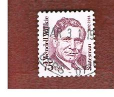 STATI UNITI (U.S.A.) - SG 2458 - 1992 GREAT AMERICANS: W. WILLKIE  - USED - Used Stamps