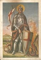 SAN GIORGIO - A Beneficio Erigendo Tempio A Torino - (rif. G63) - Santi