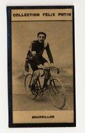 Collection Felix Potin - 1898 - REAL PHOTO - Bourrillon (cycliste) - Félix Potin