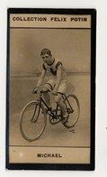 Collection Felix Potin - 1898 - REAL PHOTO - Jimmy Michael Coureur Vélocipédique, Welsh World Cycling Champion - Félix Potin