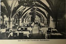 Frankfurt Am Main // Innere Des Rathskellers19?? - Frankfurt A. Main