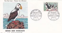 N°1274  De 1960  -  Macareux Moine - FDC