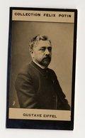 Collection Felix Potin - 1898 - REAL PHOTO - Gustave Eiffel, Tour Eiffel,  Statue De La Liberté, Statue Of Liberty - Félix Potin