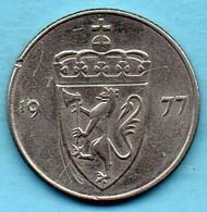 NORGE / NORVEGE / NORWAY 50 ORE 1977 - Norvège