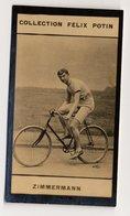 Collection Felix Potin - 1898 - REAL PHOTO - Zimmermann, Arthur-August Zimmerman, Cycling, USA - Félix Potin