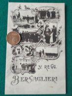 ITALIA  BERSAGLIERI  3° Reggimento - Guerra 1914-18