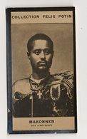Collection Felix Potin - 1898 - REAL PHOTO - Tafari Makonnen,Haile Selassie, Ras D'Abyssinie, Emp. Ethiopia, Rastafari - Félix Potin