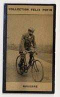 Collection Felix Potin - 1898 - REAL PHOTO - Gaston Rivierre, Coureur Cycliste Français, Bordeaux-Paris - Félix Potin