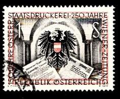 Autriche 1954 Mi.Nr: 1011 Österreichische Staafsdruckerei  Oblitèré / Used / Gebruikt - 1945-.... 2nd Republic