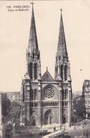 75 PARIS. CPA  EGLISE  DE BELLEVILLE. - Arrondissement: 19