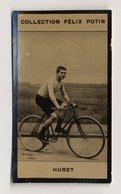 Collection Felix Potin - 1898 - REAL PHOTO - Constant Huret, Cycliste De Course De Longue Distance - Félix Potin