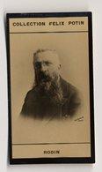 Collection Felix Potin - 1898 - REAL PHOTO - Auguste Rodin Est L'un Des Plus Importants Sculpteurs Français - Félix Potin