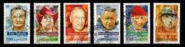 France 2000 : Timbres Yvert & Tellier N° 3342 - 3343 - 3344 - 3345 - 3346 Et 3347 (+ Vignette Séparée Offerte) Avec Obl. - Oblitérés