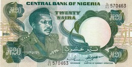 "NIGERIA 20 Naira 2003 UNC P-26h ""free Shipping Via Regular Air Mail (buyer Risk)"" - Nigeria"