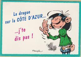 Gaston Lagaffe - Cpm / La Drague..... - Bandes Dessinées