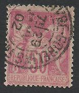 France, 50 C. 1898, Sc # 107, Mi # 81I, Used. - 1876-1878 Sage (Type I)