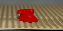 Lego Telephone Fabuland Complet Rouge Ref 4610c01 - Lego Technic