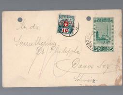Entier Postal De BOSNIE HERZEGOVINE  1912 (PPP17751) - Bosnie-Herzegovine
