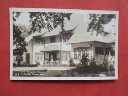 RPPC  By Jones Woodstock NY  A Fine Kingston Home   Ref 3228 - Chicago