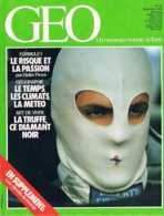 Geo   N°46   Oies Formule 1 Cap Vert Camera Obscura Truffe Banque Du Pollen Elephants - Géographie